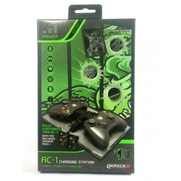 Xbox 360 Controller/Pults USB Lādēšanas Doks Ammo Clip AC1 Baterijas Nav Ieklautas Komplektā (Jauns)