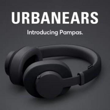 UrbanEars Pampas Over-Ear Bluetooth Austiņas Melnas (Jaunas)