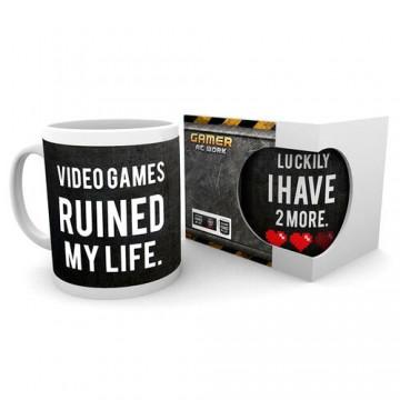 Krūze Video Games Ruined My Life (Jauna)
