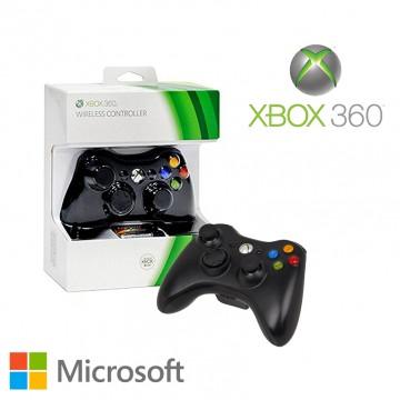 Oficiālā Xbox 360 Pults Ar Vadu Melna (Jauna)