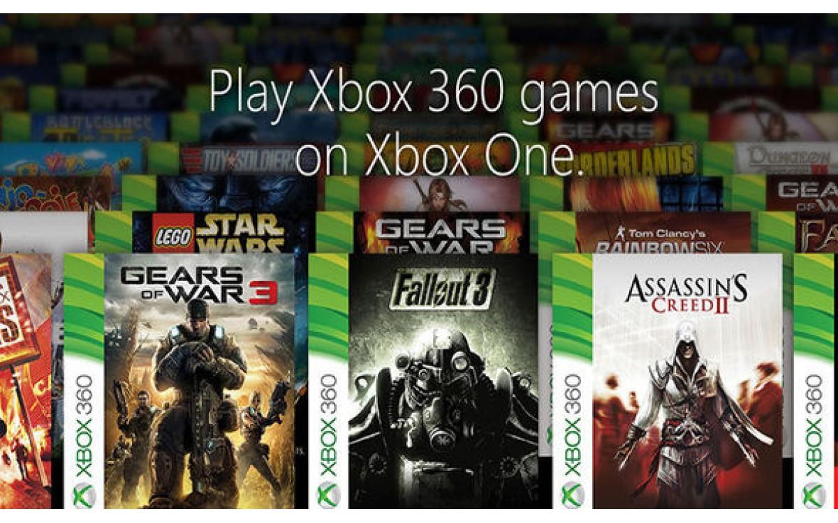 Saraksts ar Xbox 360 spēlēm kuras var spēlēt uz Xbox One konsoles !