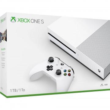 Xbox One S 1TB Konsole Balta (Jauna)