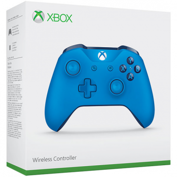 Xbox One S Bezvadu Pults Blue Vortex (Jauna)