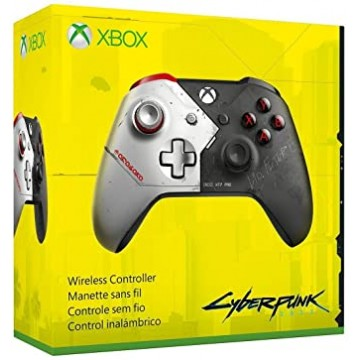 Xbox One S Bezvadu Pults Cyberpunk 2077 Limited Edition (Jauna)