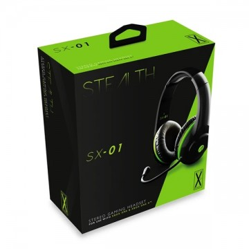 Xbox One Stealth SX-01 Austiņas ar Vadu Melnas ar Zaļu (Jaunas)