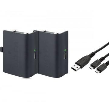 Xbox One Venom Dubultais Bateriju Lādēšanas Komplekts Melns (Jauns)