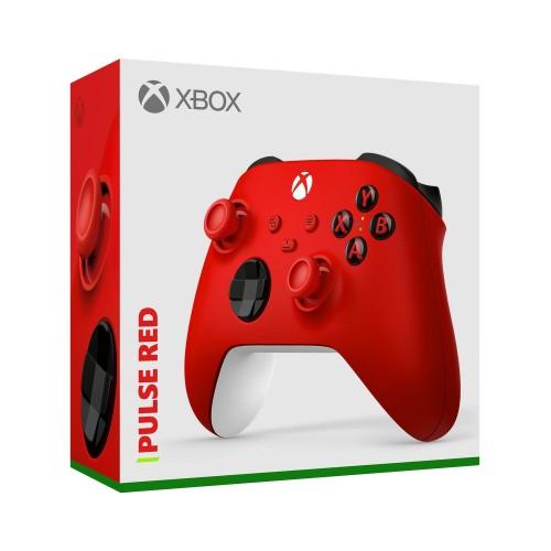 Oficiālā Microsoft Xbox Series Xbox One Bez Vadu Pults Controller Pulse Red (Jauna)