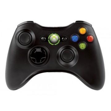Xbox 360 Pults Bez Vadu Melna (Lietota)