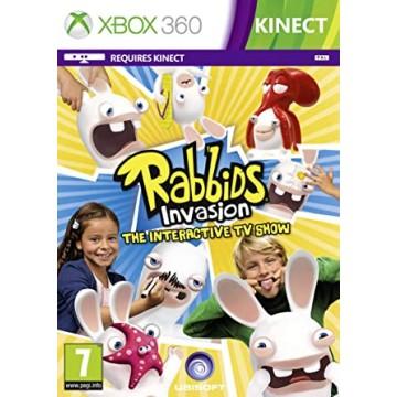Rabbids Invasion Xbox 360 Kinect (Jauna)