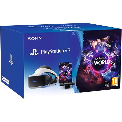 PlayStation VR Virtuālās Realitātes Brilles Sākuma Paka ar PlayStation 4 Kameru (Jauna)