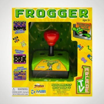 Spēļu Konsole TV Arcade Plug and Play Frogger (Jauna)