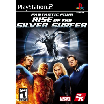 Fantastic Four Rise of The Silver Surfer (Lietota)