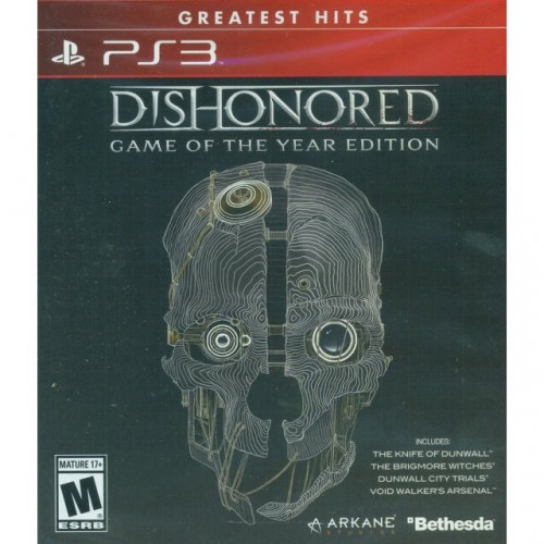 Dishonored Game of the Year Edition (Jauna)
