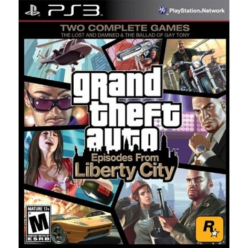 Grand Theft Auto 4 Episodes From Liberty City (Jauna)