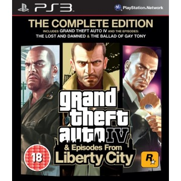 Grand Theft Auto 4 The Complete Edition (Jauna)