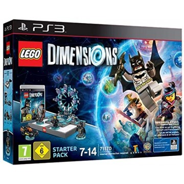 LEGO Dimensions Sākuma Paka PlayStation 3 (Jauna)
