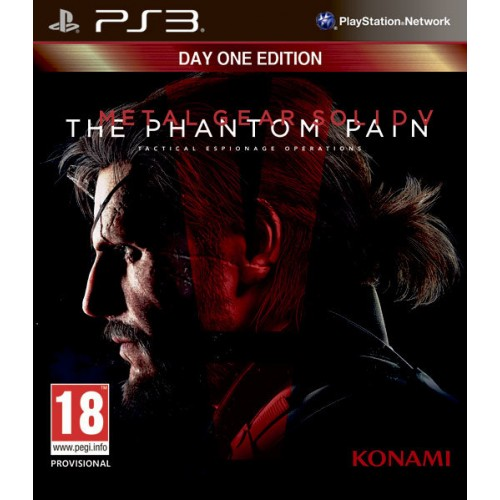 Metal Gear Solid 5 The Phantom Pain Day One Edition (Jauna)