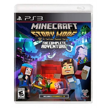 Minecraft Story Mode The Complete Adventure (Jauna)