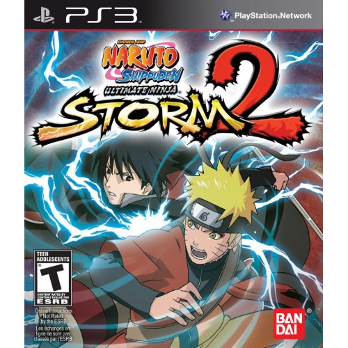 Naruto Shippuden Ultimate Ninja Storm 2 (Lietota)
