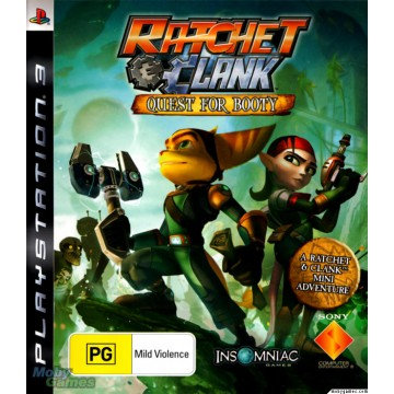 Ratchet and Clank Quest For Booty (Lietota)