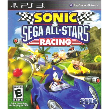 Sonic SEGA All Stars Racing (Jauna)