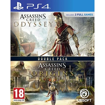 Assassin's Creed Odyssey un Assassin's Creed Origins Dubult Paka (Jauna)
