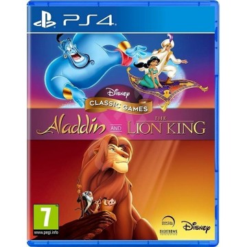 Disney Classic Games Aladdin and The Lion King (Jauna)
