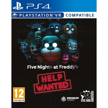 Five Nights at Freddy's Help Wanted PlayStation VR Compatible (Jauna)