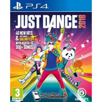 Just Dance 2018 (Jauna)