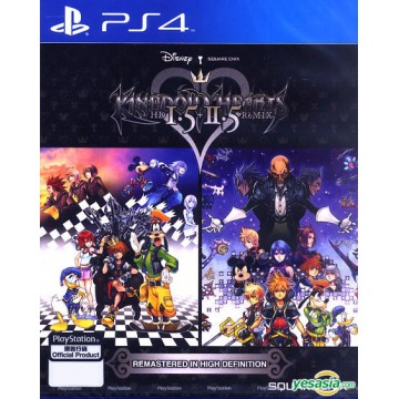 Kingdom Hearts 1.5 and 2.5 Remix (Jauna)