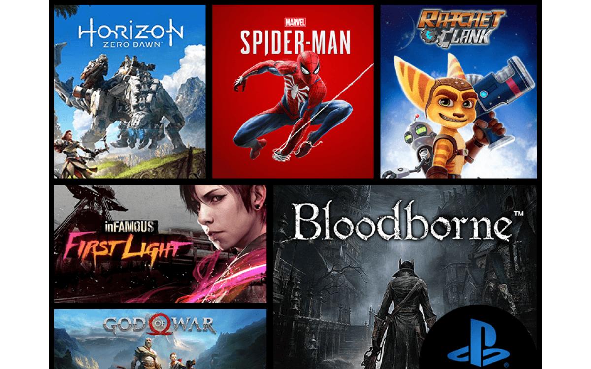 Pilns saraksts ar PlayStation 4 ekskluzīvajām spēlēm.