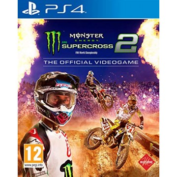 Monster Energy Supercross 2 (Jauna)