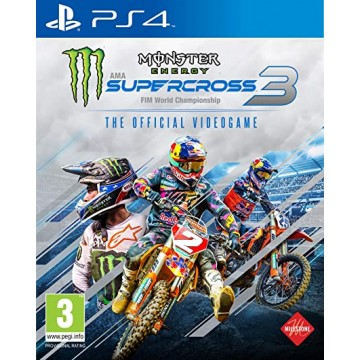 Monster Energy Supercross 3 (Jauna)