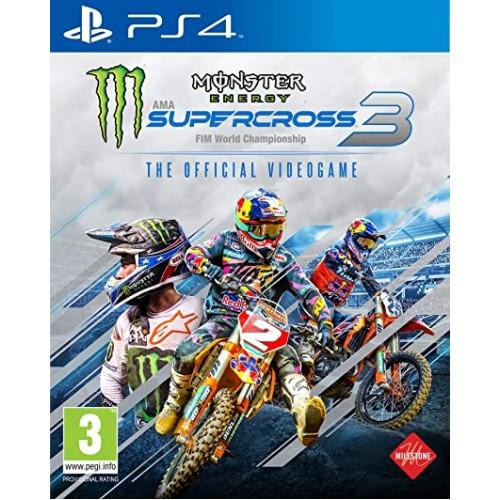 Monster Energy Supercross 3 (Jauna)