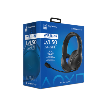 Oficiāli Licencētas PlayStation 4/PlayStation 5 PDP LVL50 Bez Vadu Stereo Austiņas (Jaunas)