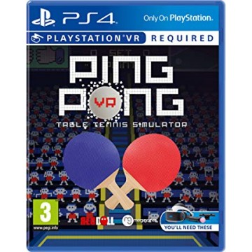 Ping Pong Table Tennis Simulator VR (Jauna)