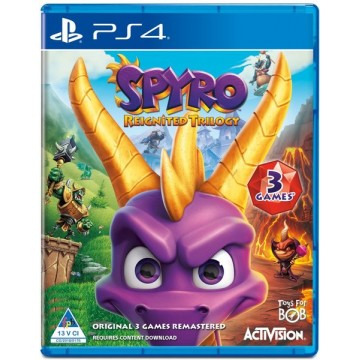 Spyro Reignited Trilogy (Jauna)