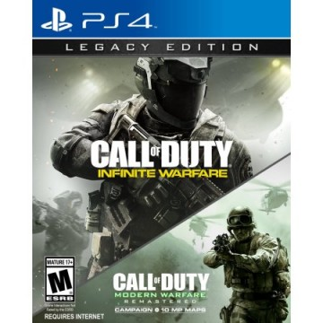 Call of Duty Infinite Warfare Legacy Edition ar Call of Duty Modern Warfare Remastered (Jauna)