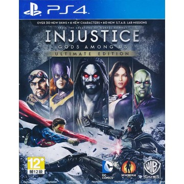 Injustice Gods Among Us Ultimate Edition (Jauna)