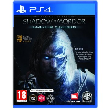 Middle Earth Shadow of Mordor Game of The Year Edition (Lietota)