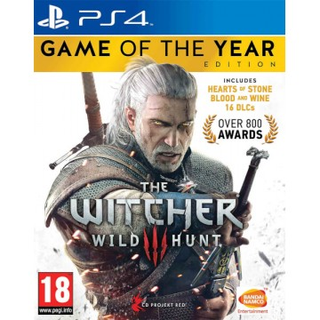 The Witcher 3 Wild Hunt Game of The Year Edition (Jauna)