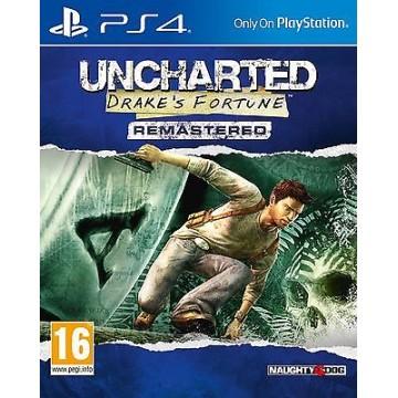 Uncharted Drake's Fortune Remastered (Jauna)