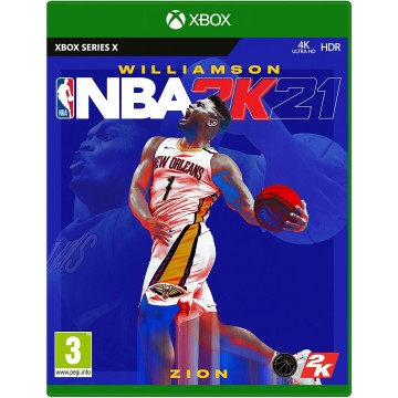 NBA 2K21 Xbox Series X (Jauna)