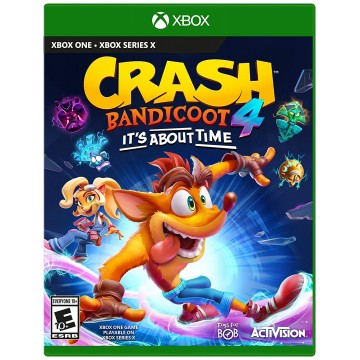 Crash Bandicoot 4 It's About Time (Jauna)