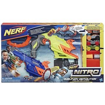 NERF Nitro Duelfury Demolition (Jauna)