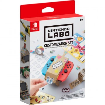 Nintendo Labo Customisation Set (Jauns)