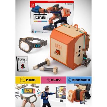 Nintendo Labo Toy Con 02 Robot Kit (Jauns)