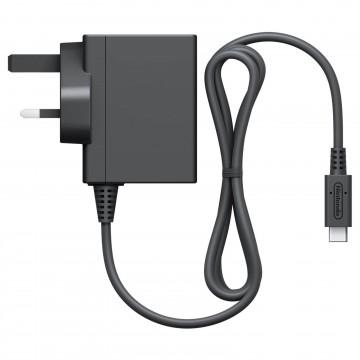 Oficiālais Nintendo Switch Strāvas Adapteris (Jauns)