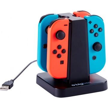 Nintendo Switch Big Ben 4 Joy Con Lādēšanas Doks (Jauns)