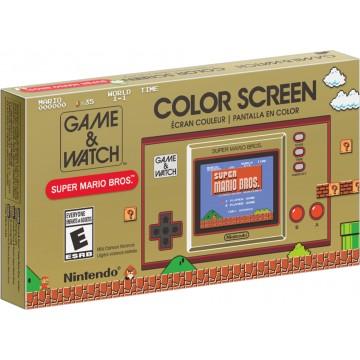 Oficiālā Nintendo Game and Watch Super Mario Bros Retro Konsole (Jauna)